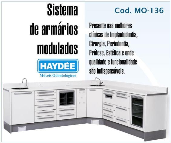 MO-136 Móveis Odontológicos Haydee - Conjuntos em