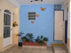 área social e entrada  para o quarto 05