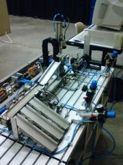 Desenvolvimento de mec�nismo de automa��o para linha de produ��o.