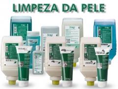 Limpadores e higienizadores para pele