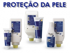 Cremes do grupo 3 para proteção de pele