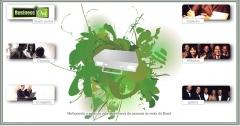 Projeto de site para BusinessOne1, grupo de marketing direto