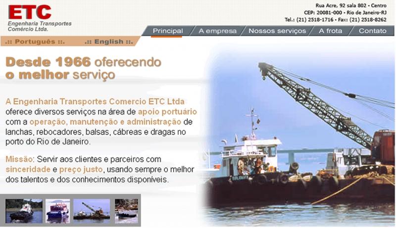 ETC Br, empresa de logística de transportes