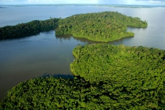 Ilhas do lago da uhe-tucuruí-pa