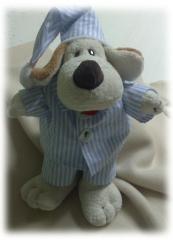 Cachorro de pijama