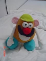 Sr Cabeça de batata -desenvolvimento de mascote