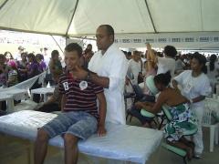 1 de maio cristão dia do trabalhador no expominas(quiropraxia)