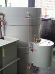 Mini estação de tratamento de água