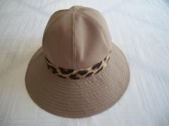 Chapéu tecido detalhe em oncinha