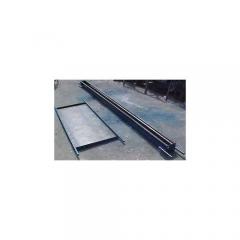 Conjunto de formas/ placa de muro e poste para placa de muro