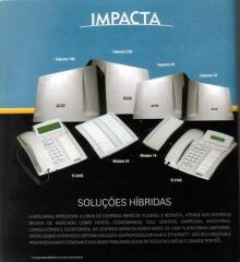 Centrai telefonicas e de comunicações