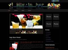 Website MixInBar em Paulínia/SP