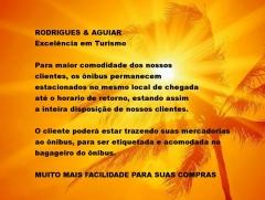 ExcursÕes compras paraguai