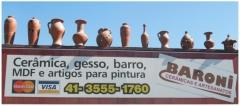 Baroni artesanatos peÇas de gesso cerÂmica vasos de barro e peÇas de madeira em campo largo - foto 22