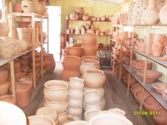 Baroni artesanatos peÇas de gesso cerÂmica vasos de barro e peÇas de madeira em campo largo - foto 20