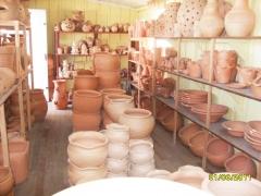 Baroni artesanatos peÇas de gesso cerÂmica vasos de barro e peÇas de madeira em campo largo - foto 10