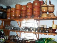 Baroni artesanatos peÇas de gesso cerÂmica vasos de barro e peÇas de madeira em campo largo - foto 8