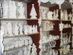 Baroni artesanatos peÇas de gesso cerÂmica vasos de barro e peÇas de madeira em campo largo - foto 24