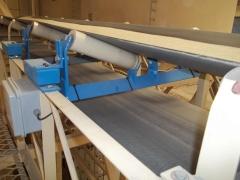Balan�a integradora - pesagem em correia transportadora