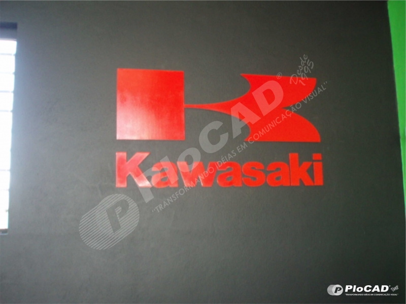 Letra Caixa interna - CLIENTE KAWASAKI