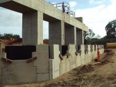 Projeto e supervisão obras de acesso ao viaduto unisinos