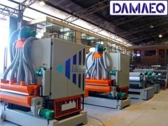 Linha de produção - com lixadeiras damaeq - para mercado moveleiro