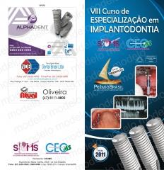 Oferecemos curso de especializaÇÃo em implantodontia