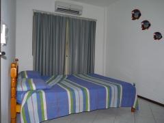 Quarto do apartamento flat p/ até 2 pessoas