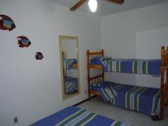 Quarto do apartamento flat p/ até 4 pessoas