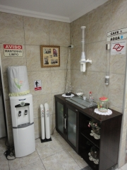 Area de cafe e agua