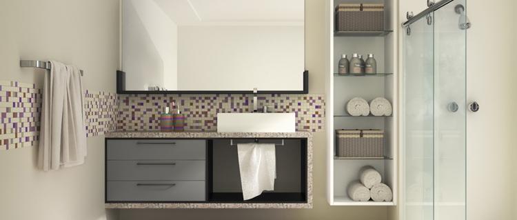 Foto banheiro planejado richmond new moveis praia grande -> Banheiros Planejados New