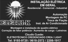Eletricista credenciado crea / light - 96182572 - foto 14