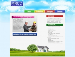Site da empresa de construção civil mrcc