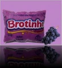 Brotinho sabor uva