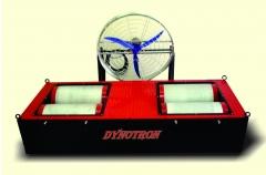 Conjunto - dinamÔmetro de rolo inercial ou com freio eletromagnético para automóveis