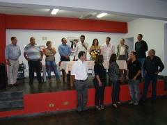 O evento contou com a participação de muitos amigos e personalidades de destaque