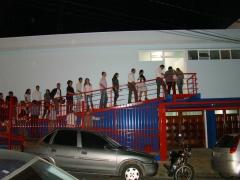 A rampa de entrada propicia o acesso de pessoas com ou sem necessidades especiais com conforto.