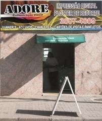 Adore comunicaÇÃo visual grafica adesivos cartao de visita banners em araucária - foto 14