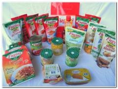 Molhos Especiais, Pratos Prontos, Vegetais e Doces, alguns dos produtos da Fugini.