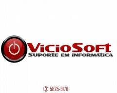 Logo da empresa viciosoft suporte em informática prestadora de serviços em ti