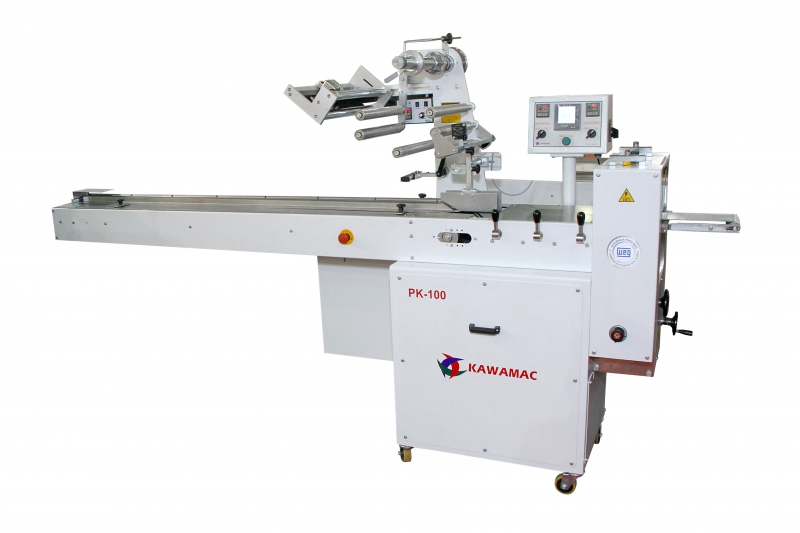 KAWAMAC - Maquina horizontal flow-pack modelo PK-100