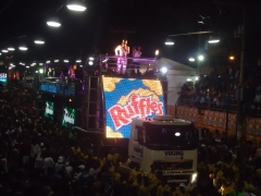 Painel de led - trio timbalada 2011