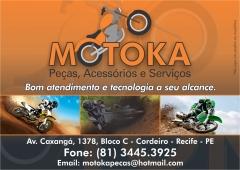 Motoka peças, acessórios e manutenção de motos ltda