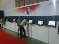 Cyber cafe para eventos e congressos