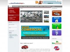 Layout e website ClassificadosDaqui em Santo Ântogelo/RS