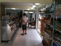Vista interna da loja
