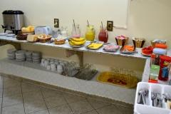 Café da manhã da pousada