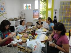 Vila arte- aula de cerâmica