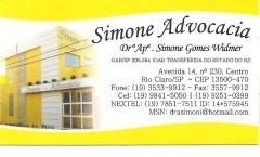 Foto 10 advogados de causas criminais - Simone Advocacia - Simone Widmer