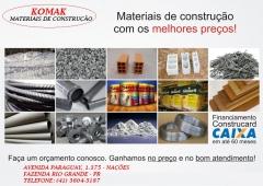 KOMAK MATERIAIS DE CONSTRUÇÃO EM FAZENDA RIO GRANDE - Foto 23